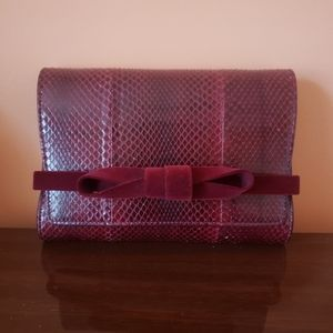 AUTHENTIC Jimmy Choo Bow Clutch